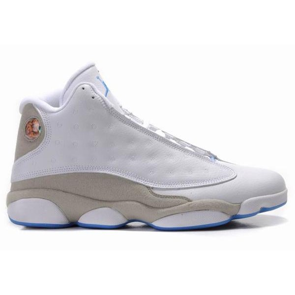 quality design 04631 e2582 Air Jordan 13 Retro White Neutral Grey University Blue , Buy Cheap ...